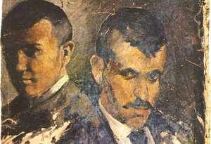 Picasso - Autoportret z ojcem