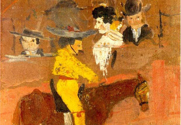 Pikador obraz wczesny - Picasso