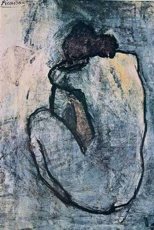 Picasso - Akt niebieski-1902