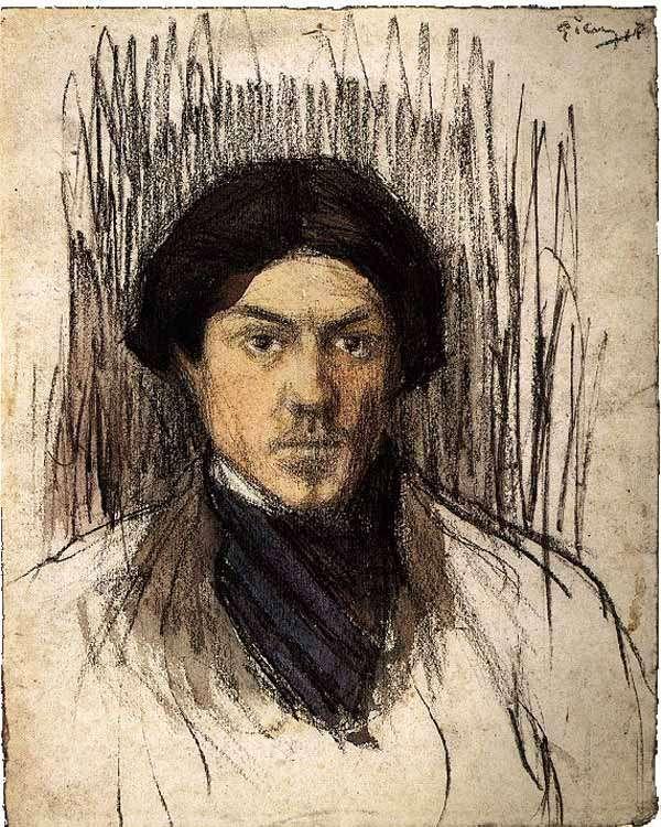 Picasso - Autoportret - 1901