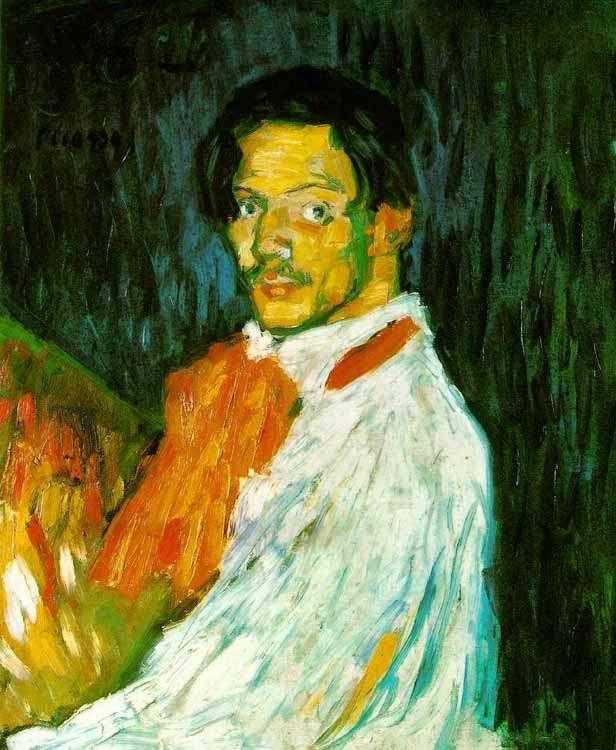 Picasso- Autoportret 1 - 1901