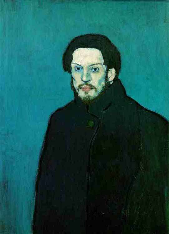 Picasso- Autoportret 2 - 1901