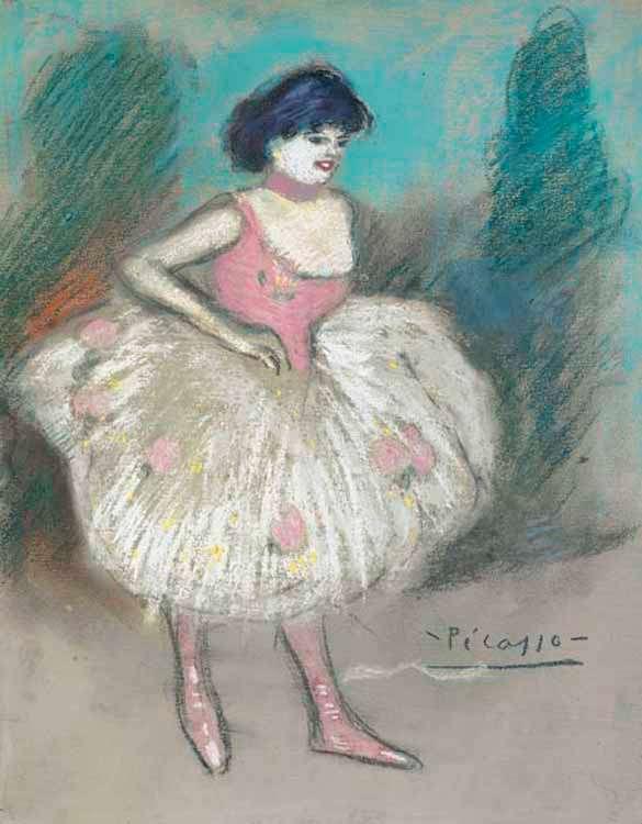 Picasso - Balerina - 1901