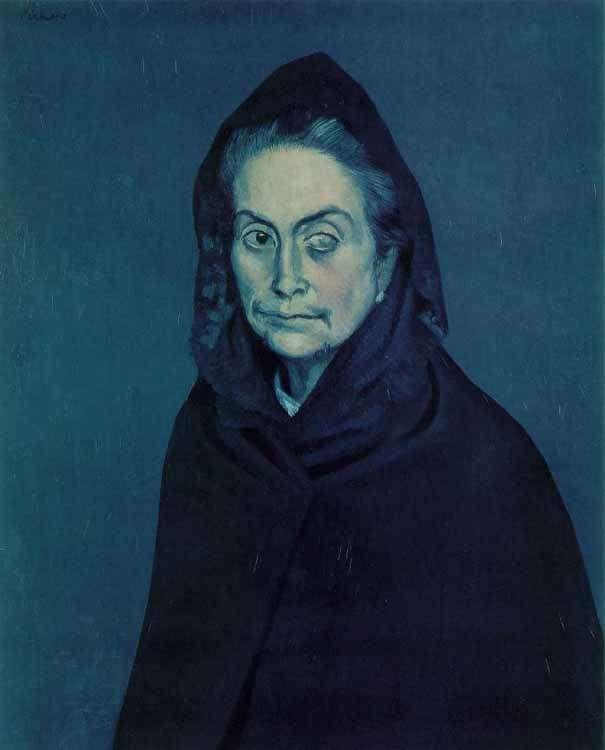 Picasso - portret - Celestyna - 1904