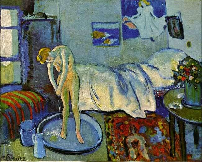 Obraz  - Niebieski pokój - 1901