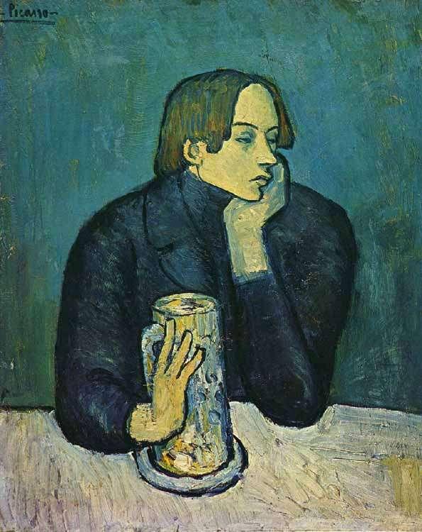 Portret Jaime Sabartesa - 1901