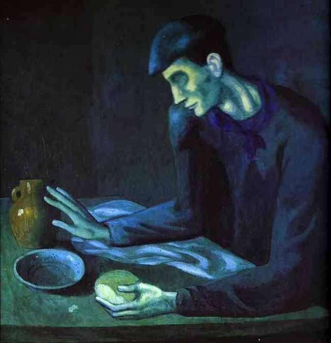 Obraz - Śniadanie niewidomego - 1903