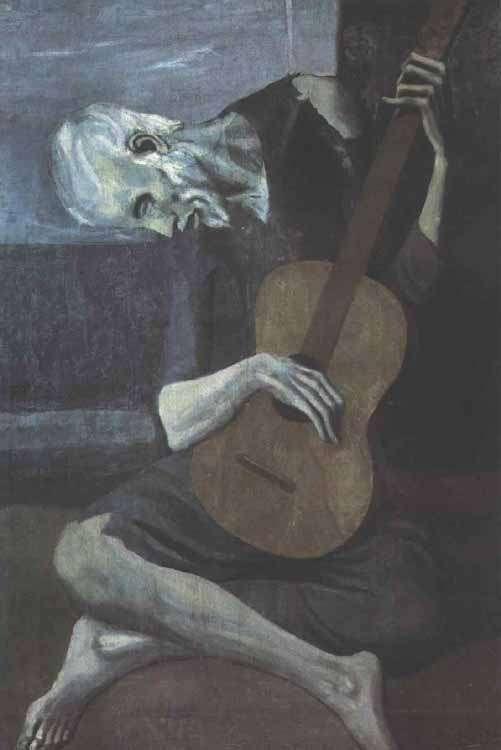Picasso - Stary gitarzysta - 1903-04
