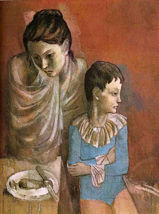 Picasso - akrobaci - 1905