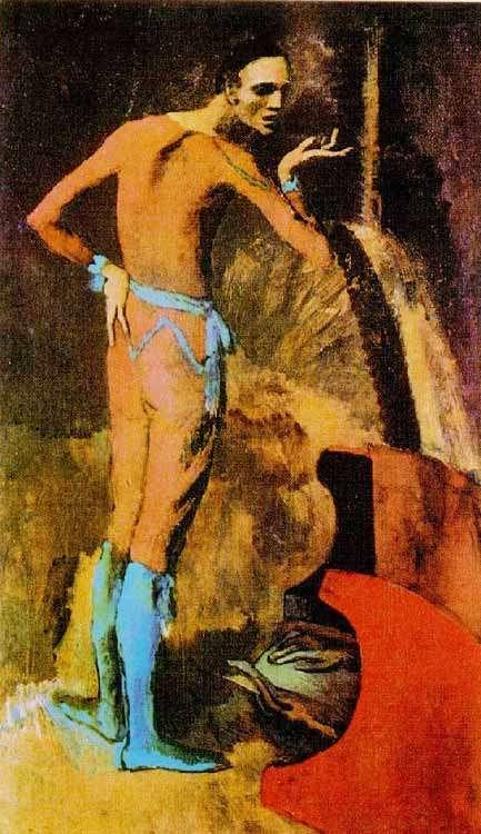 Obraz Picassa - Aktor - 1904