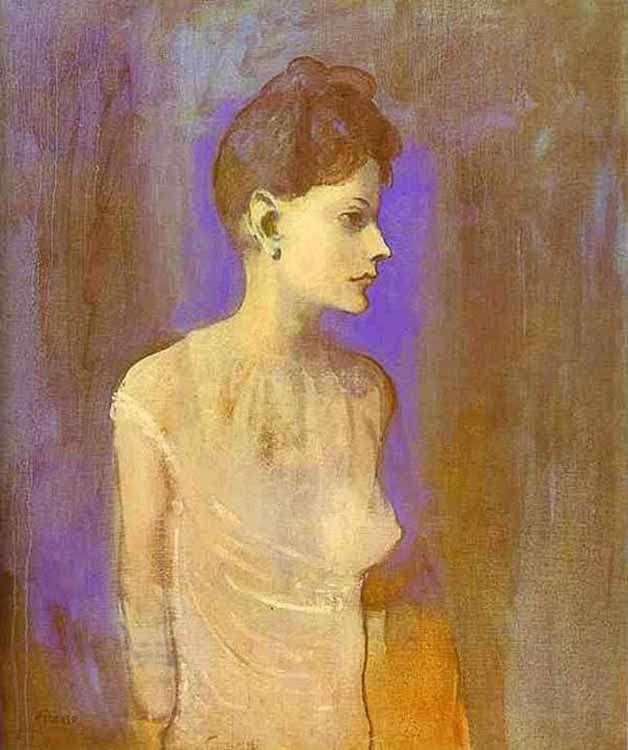 Obraz - Dziewczyna w koszuli - 1905