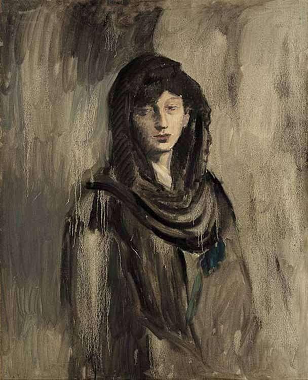 Obraz - Fernande w czarnej mantyli - 1905