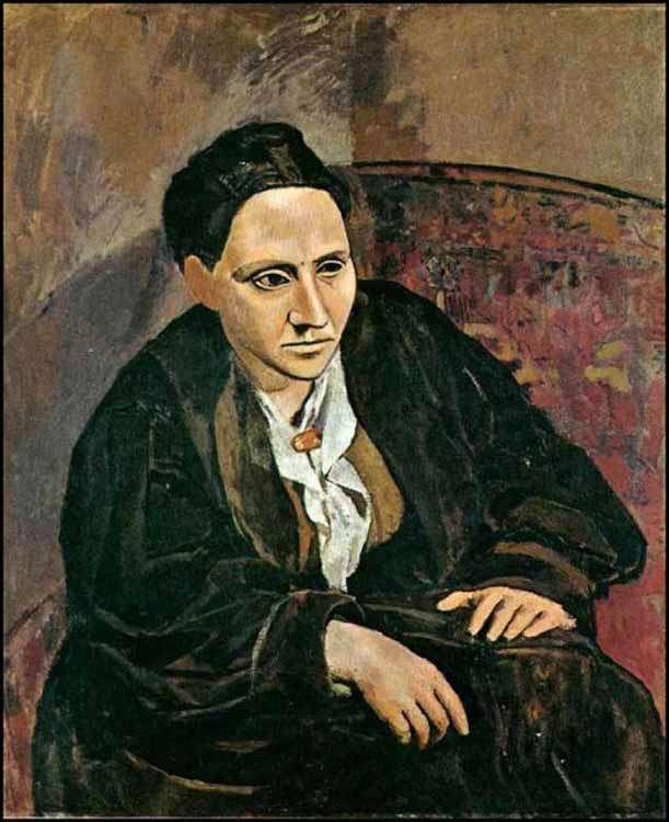 Obraz Picassa - Gertruda Stein - 1906