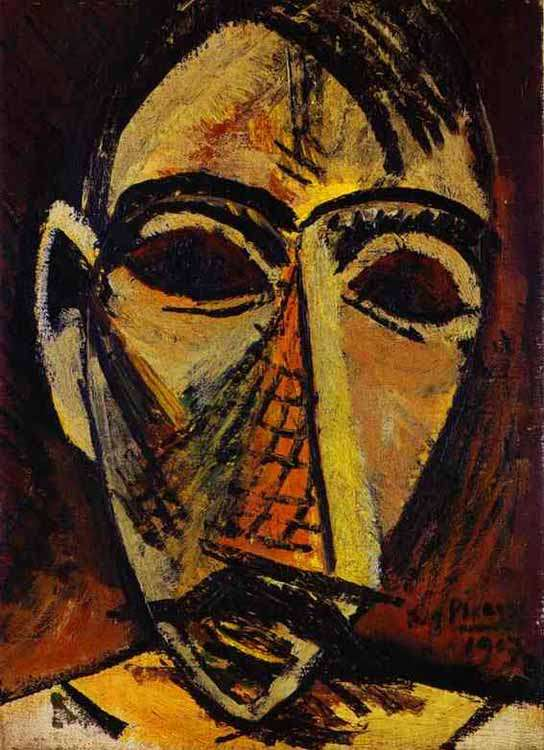 Obraz - Głowa mężczyzny - 1907