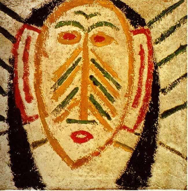 Maska afrykańska - 1907