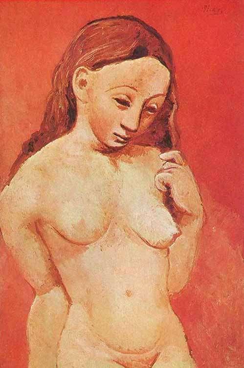 Obraz - Młoda dziewczyna - 1906