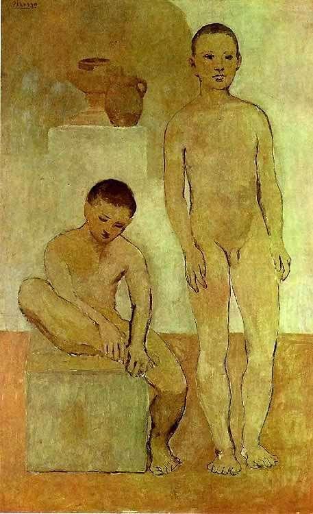 Obraz - Młodzieńcy - 1906