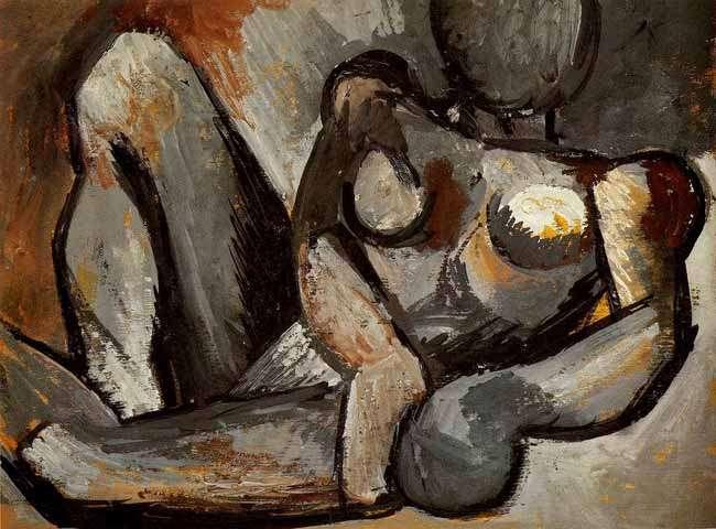 Picasso - Akt leżący - 1908